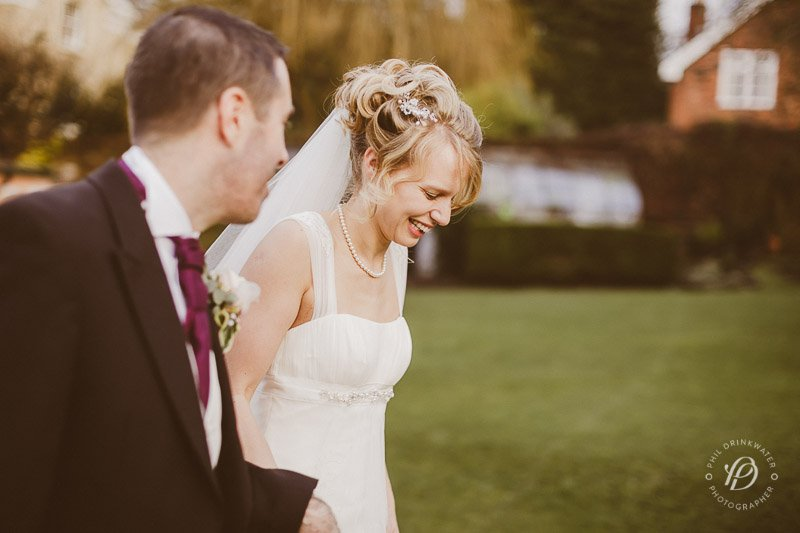 Bride and groom at Alderley Edge Hotel | Make up and hair by Rebecca Anderton in Manchester at www.rebeccaanderton.co.uk