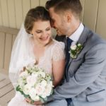 A rustic wedding in Skipton, North Yorkshire. Hair and makeup by www.rebeccaanderton.co.uk
