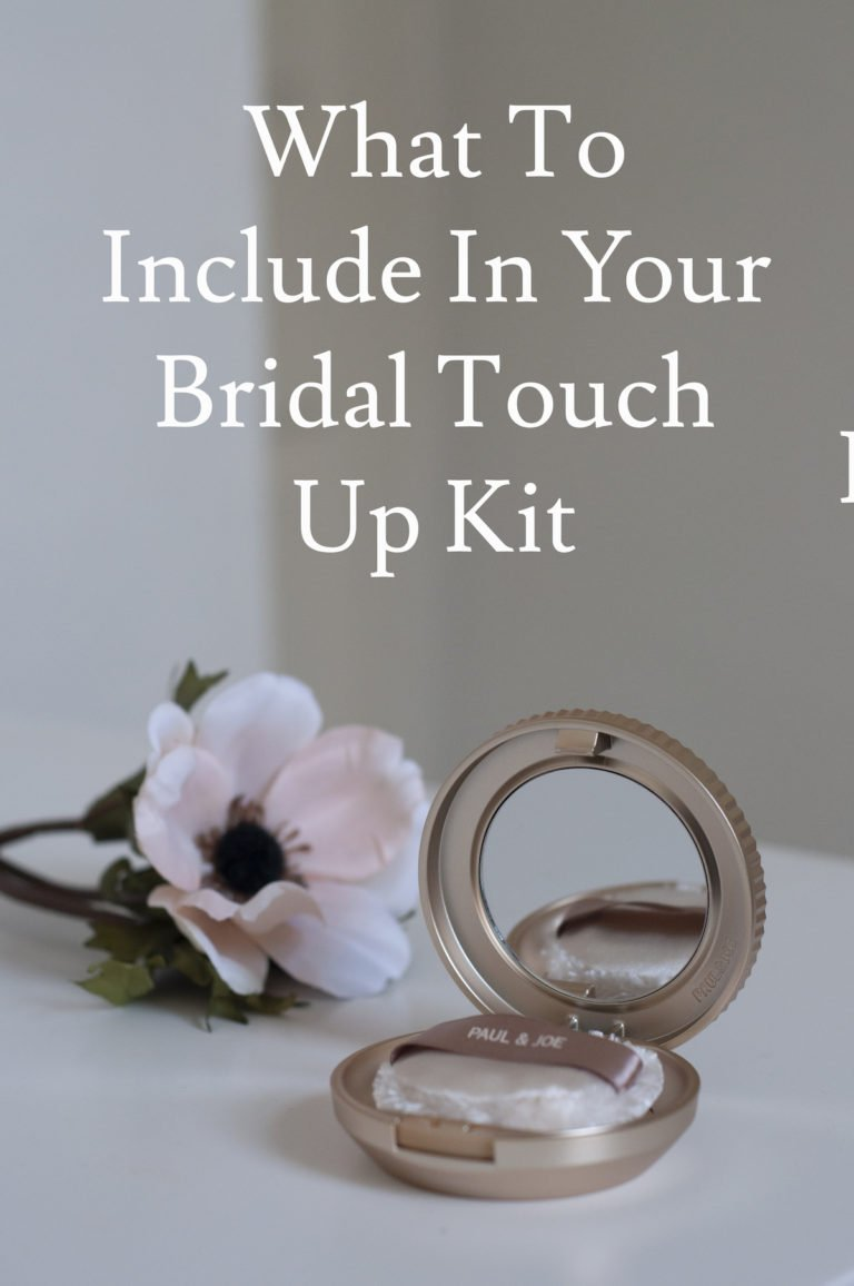 What to include in your bridal touch up kit