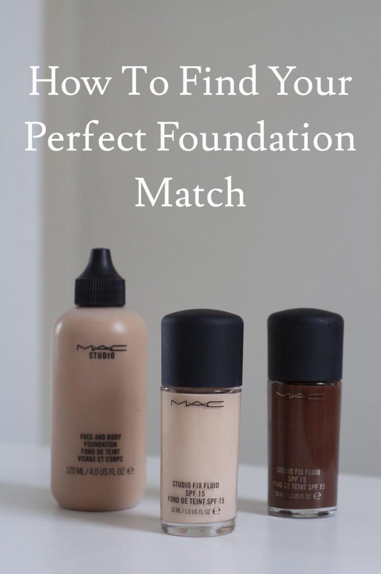 Three foundation bottles