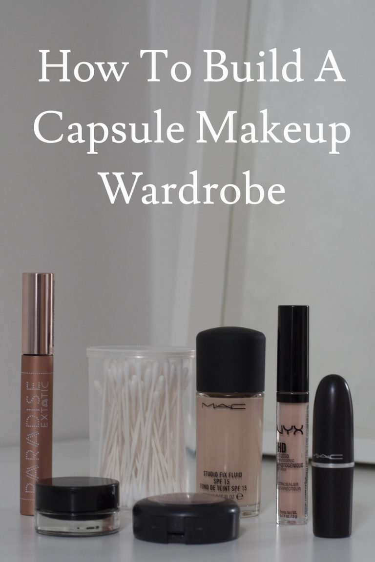 How To Build A Capsule Makeup Wardrobe
